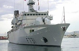 Floréal-class frigate - Image: Prairial 1