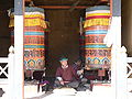 Prayer Wheels, Memorial Chorten, Thimphu.jpg