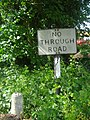 Pre-Worboys no through road, Rectory Lane, Ridge - geograph.org.uk - 2285348.jpg