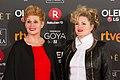 Premios Goya 2018 - Ainhoa Eskisabel y Olga Cruz.jpg