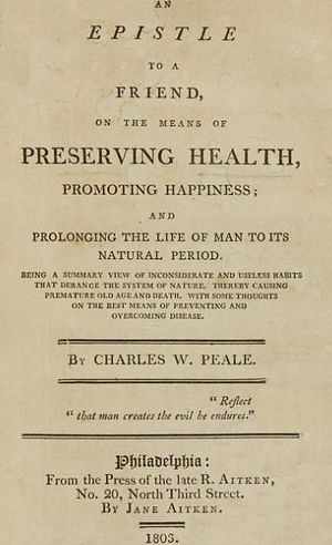 Jane Aitken - Image: Preserving Health 1803