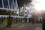 President Barack Obama walks in 57th Presidential Inaugural Parade 130121-Z-QU230-203.jpg