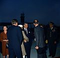 President John F. Kennedy and Prime Minister of India Jawaharlal Nehru Attend Arrival Ceremonies (color).jpg