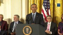 চিত্র:President Obama Awards the Presidential Medal of Freedom.webm