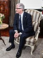 "President Puigdemont - ""Catalunya i Flandes faran missions empresarials conjuntes"" (cropped).jpg"