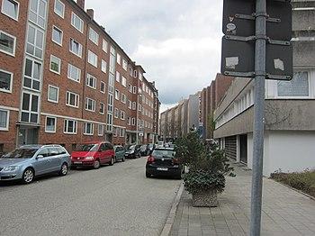 Zwischen Koldingstraße und Holtenauer Straße