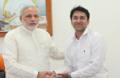 Prijesh Kannan with Narendra Modi.PNG