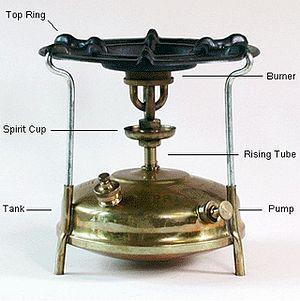 Primus stove - Primus Stove components