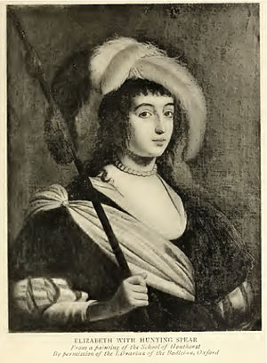 Elisabeth of the Palatinate - Elisabeth the hunter.