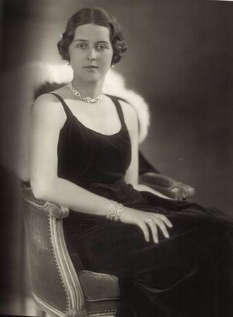 Princess Cecilie of Greece and Denmark - Image: Princess Cecilie of Greece