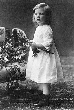 Juliana of the Netherlands - Princess Juliana in 1916.