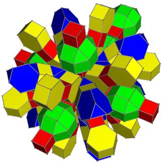 Runcinated tesseracts - Net