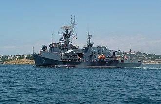 Grisha-class corvette - Image: Project 1124M Suzdalets 2009 G1