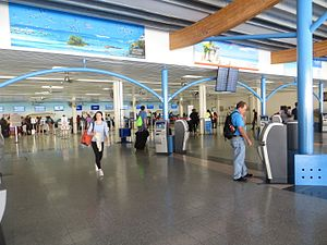 Providenciales International Airport - Check-in area