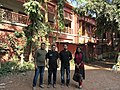 Pubali Bank officer Rayhan Reza, Arshadul Haque with Wikipedian couple in Kandirpar, Cumilla 05.jpg