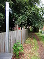 Public footpath, Newark Road, Lincoln, England - DSCF1438.JPG