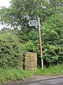Public footpath at Chapel Lane, Cronton.JPG