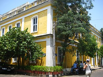 French people in India - Building of the École française d'Extrême-Orient in Pondicherry
