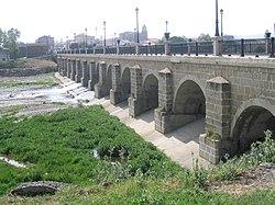 Puente sobre el río Oja en Santo Domingo de la Calzada.JPG
