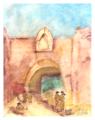 Puerta de La Media Luna, Cartagena de Idias, 1870, Colombia.tif