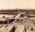 Puerto Madero y ruinas de la aduana (SFA de A, ca 1895).jpg