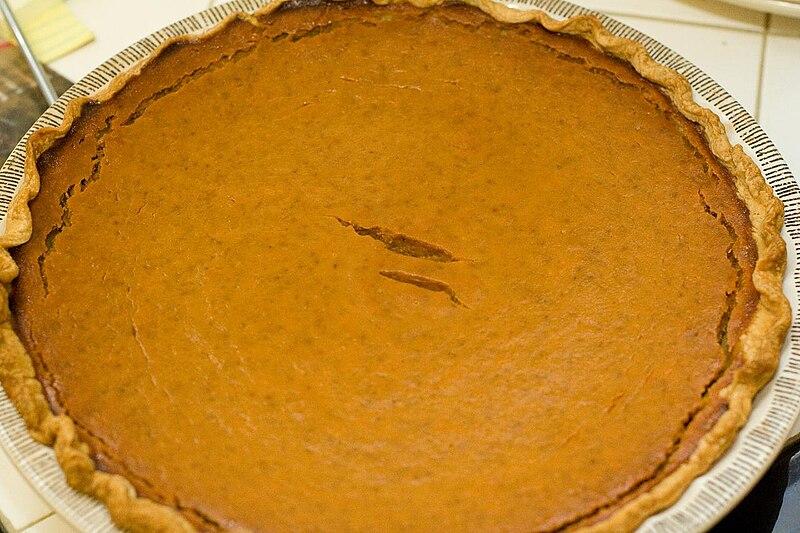 Pumpkin Pie, November 2008