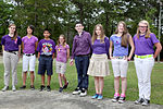Purple up, students showcase support 130415-M-EK666-004.jpg