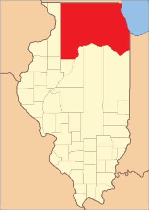 Putnam County, Illinois - Image: Putnam County Illinois 1825