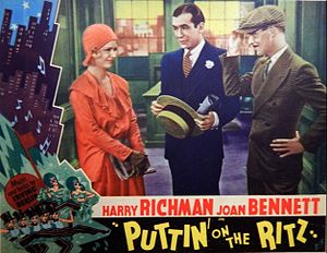 Puttin' On the Ritz (film) - Lobby card