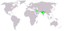 Pycnonotus leucotis leucogenys map editation 1.png