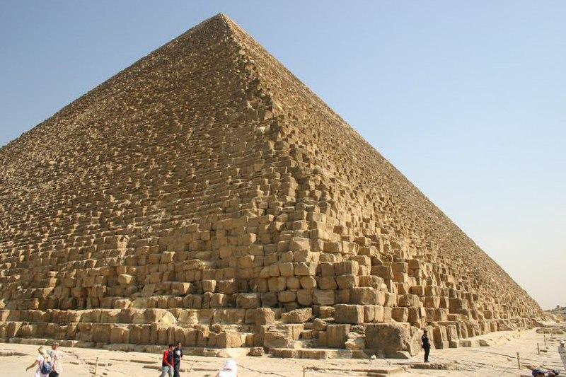 Gran Pirámide de Giza (S. XXVI a. C.)