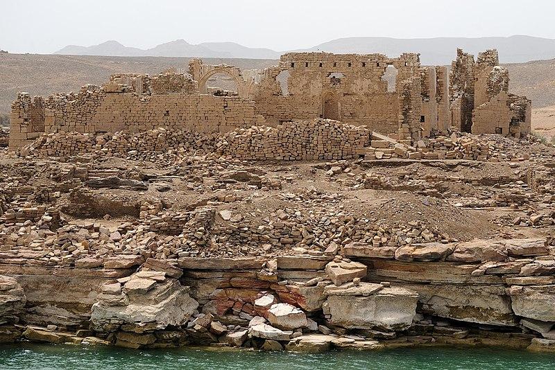 Руины кафедрального храма Каср-Ибрим