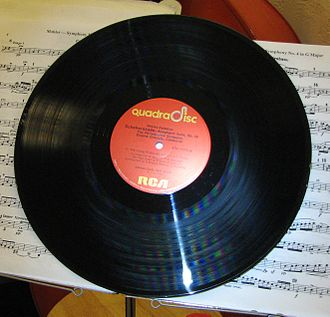 Quadraphonic sound - An RCA Quadradisc record