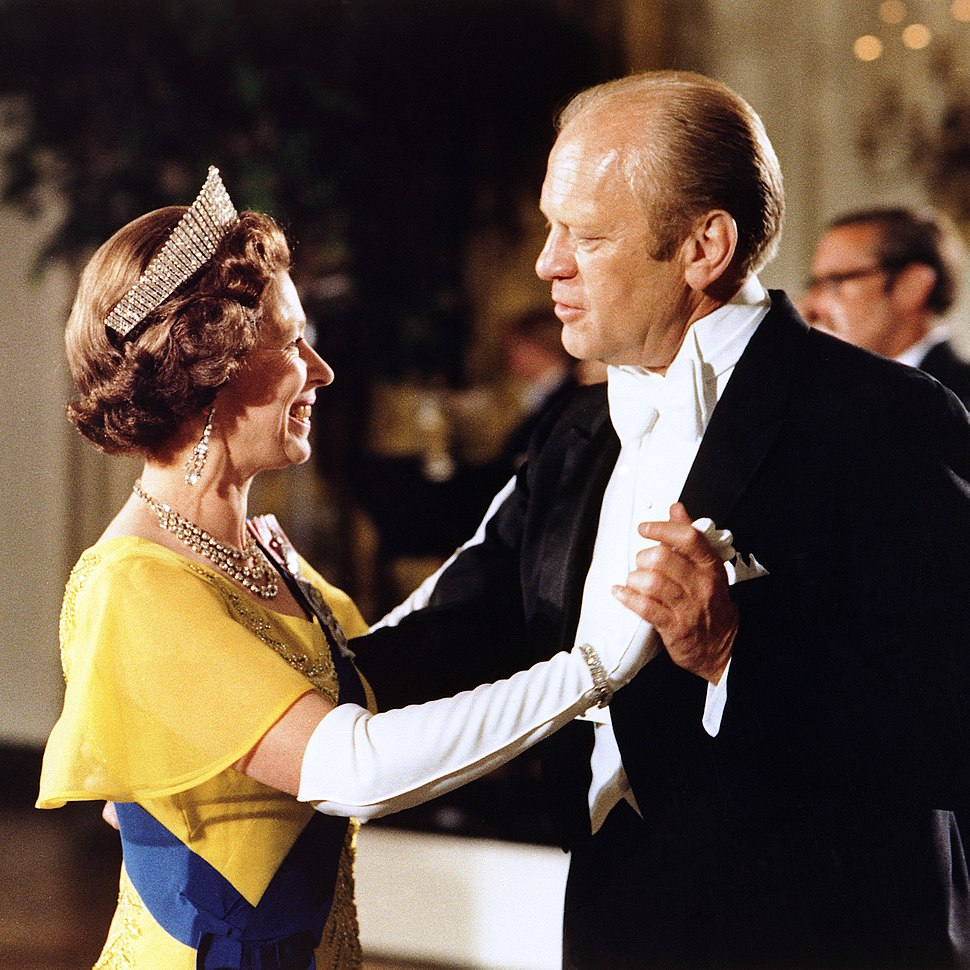 Queen Elizabeth II and President Ford 1976