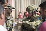 RAAF officer advising Afghan Air Force personnel at Kabul Air Base in 2018.jpg