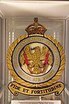 RAF Defford Museum 2016 006 - Telecommunications Flying Unit badge.jpg