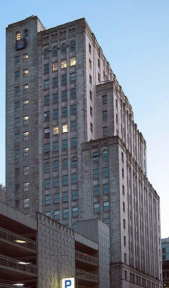 Royal Bank Tower (Vancouver) - Image: RBC W Hastings