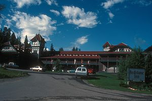 Redstone Inn - North elevation from driveway, 2007