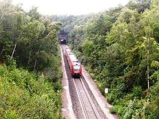 Mid-Germany Railway Rail link between Thuringia and Saxony