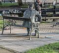REMEMBERING BRENDAN BEHAN (PUBLIC ART BESIDE LOCK 2 ON THE ROYAL CANAL)--111898 (24818467970).jpg