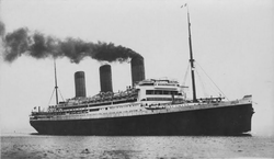 RMS Majestic, F. G. O. Stuart (cropped).png