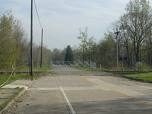 Camp Ravenna Joint Military Training Center - Image: RTLS Windham gate