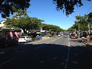 Racecourse Road, Brisbane - Racecourse Road, May 2013