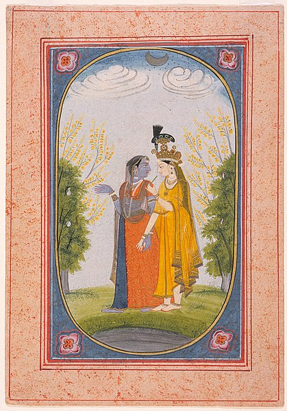 File:Radha and Krishna Exchange Clothes LACMA M.80.232.4.jpg