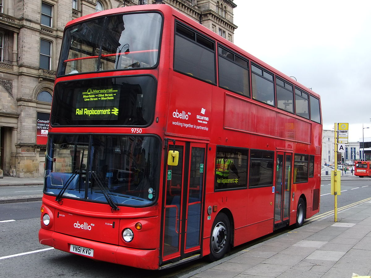 Rail replacement bus service - Wikipedia