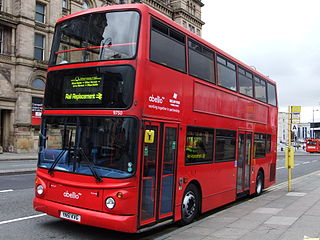 the substitution of rail traffic by buses