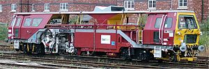 Tamping machine - Tamper in Jarvis PLC Fastline livery