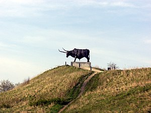 Rakvere - Tarvas statue