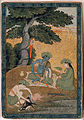 Rama, with Sita and Lakshmana in the forest (6124522721).jpg
