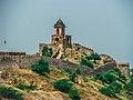 Rampart of old Amber town, Amber -Jaipur -Rajasthan -IMG 1285.jpg